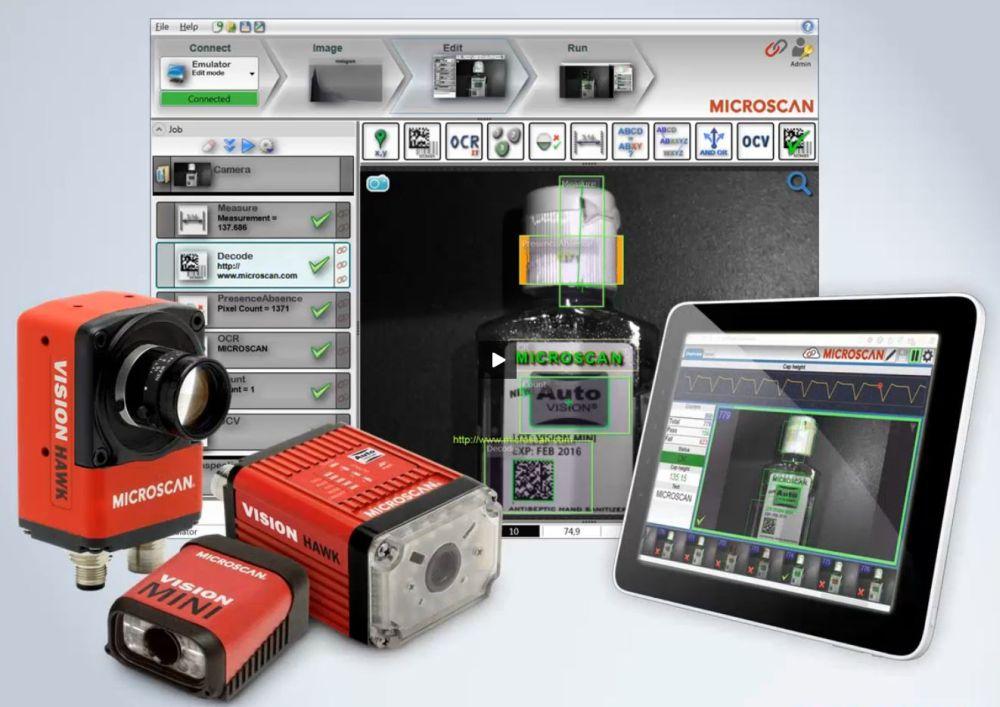 Cканеры штрих-кода и системы технического зрения